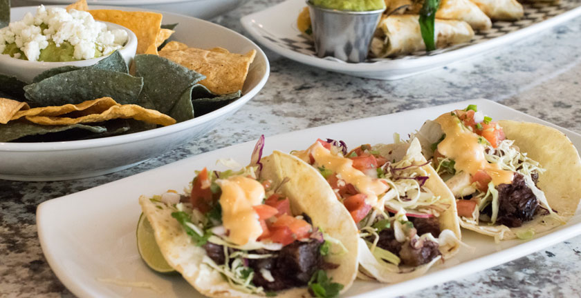 mexican inspired cuisine from polanco