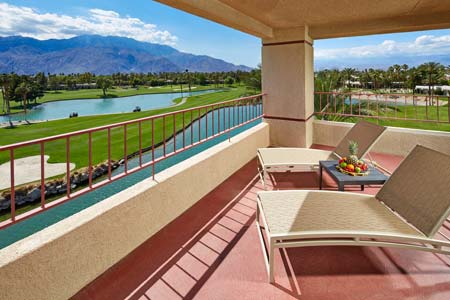 palm springs resort guestrooms